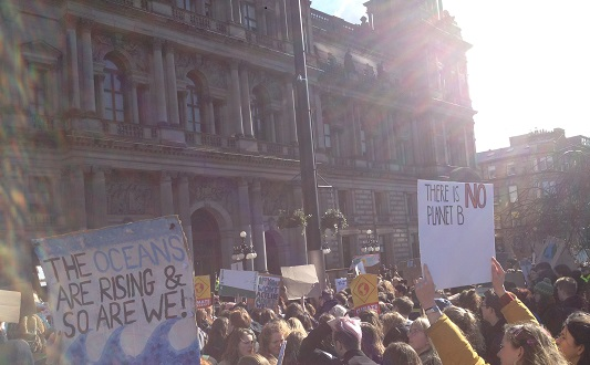 Glasgow Climate Strike 15 March