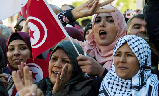 tunisia protest 2018