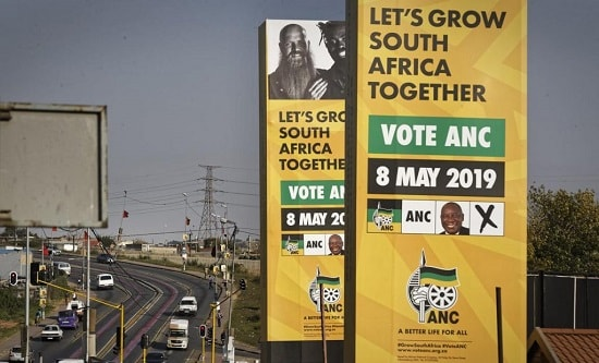ANC election campaign posters