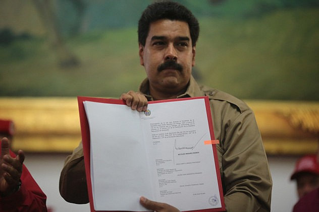 Maduro wins enabling law
