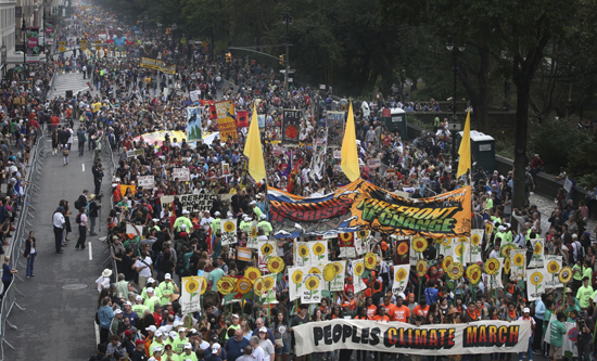 Climate change march