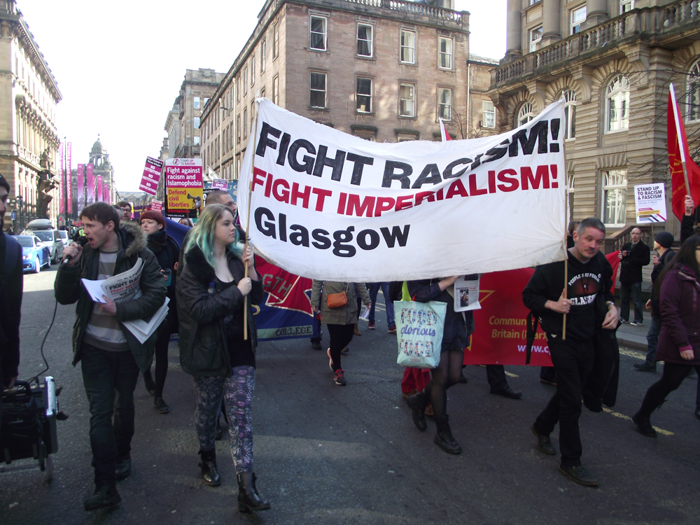 Glasgow Stand Up Demo