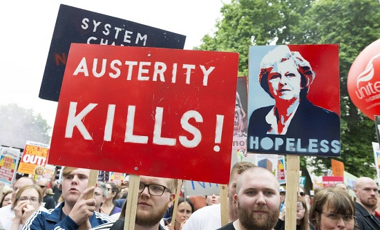 Anti-austerity protest