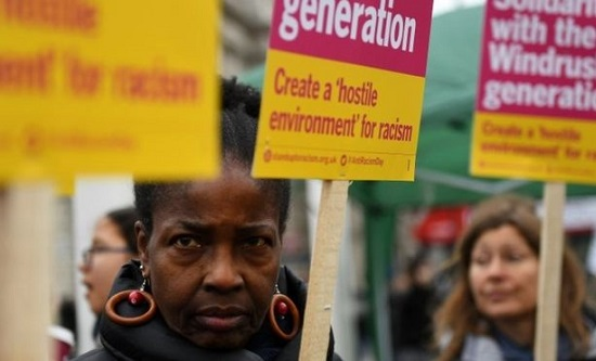 Windrush protest