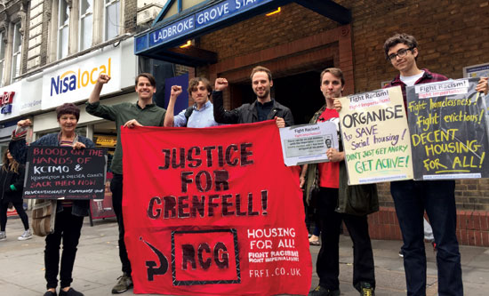 justice for grenfell demo