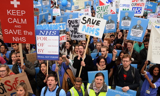 Save the nhs protest