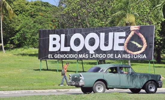 The US blockade of Cuba has been in place for almost 60 years
