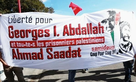 Samidoun: freedom for Georges Abdallah and Ahmad Sadat