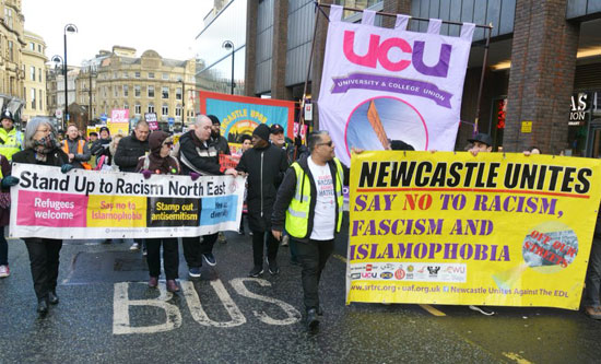 Newcastle: standing up to racism?