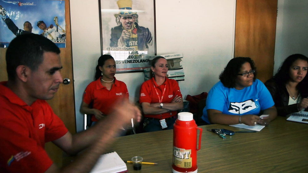 Meeting with the PDVSA at the plant to discuss politics and processes