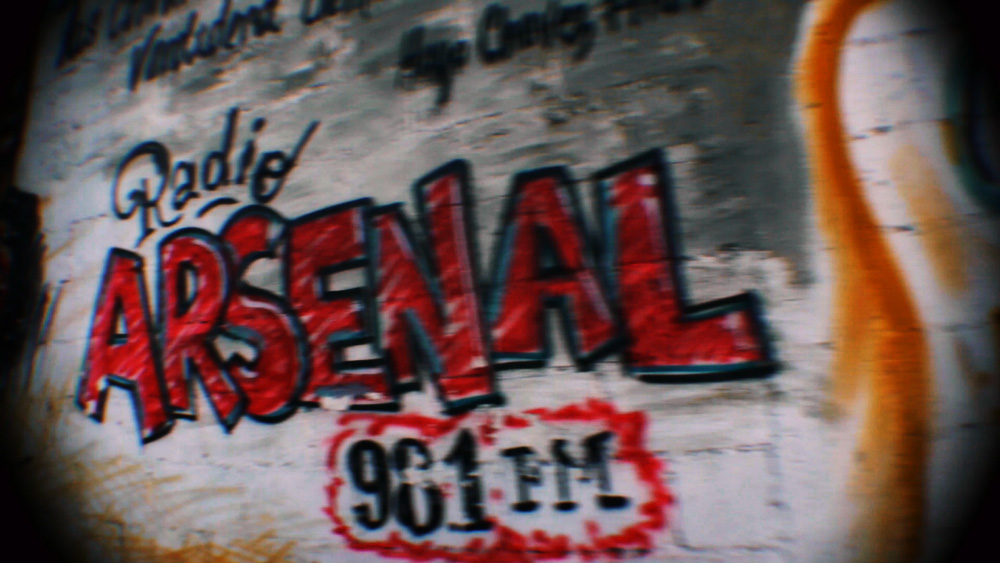 "'Our role is to raise consciousness, to be protagonists, exercise our power, for this we produce our community newspaper and radio which is called ""Arsenal""'"
