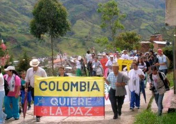 Colombians want peace