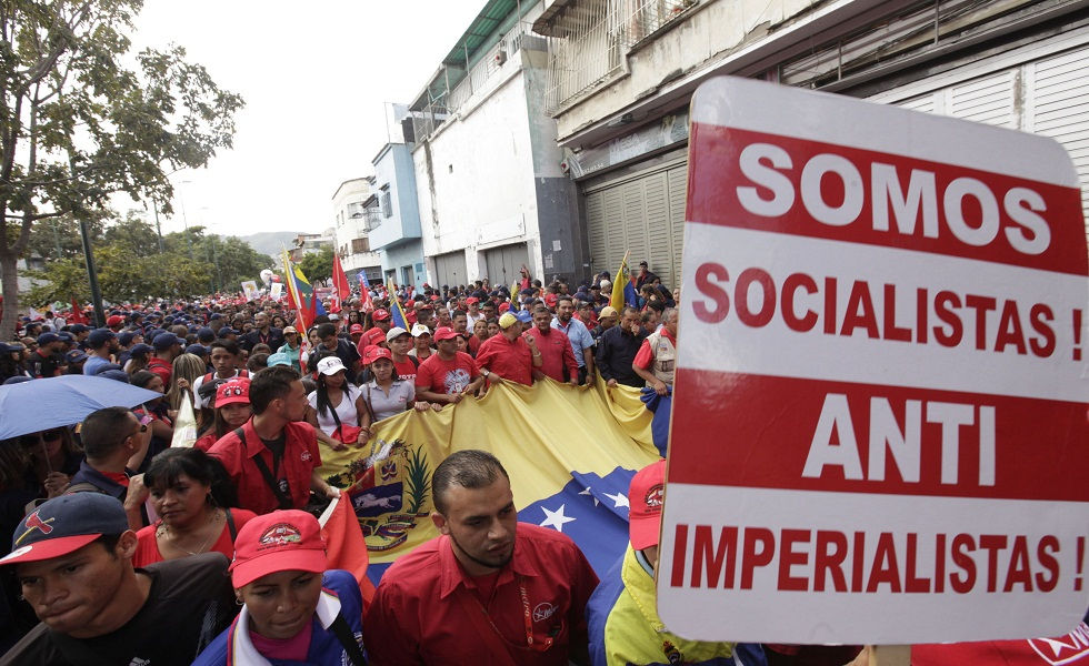 marcha antiimperialista