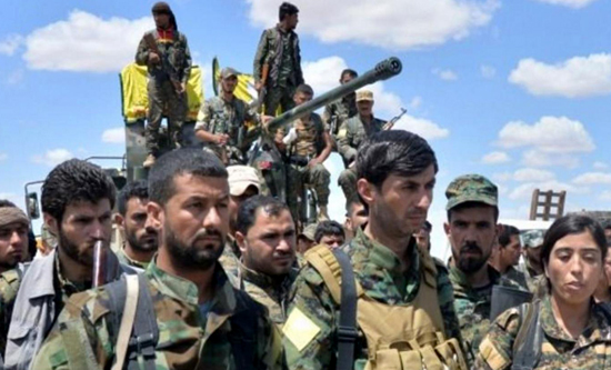 The Syrian Democratic Forces are an alliance of Kurdish Arab Turkmen and other rebels