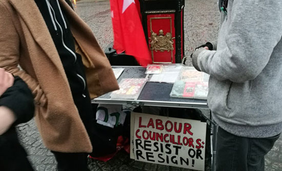 labour councillor resist or resign