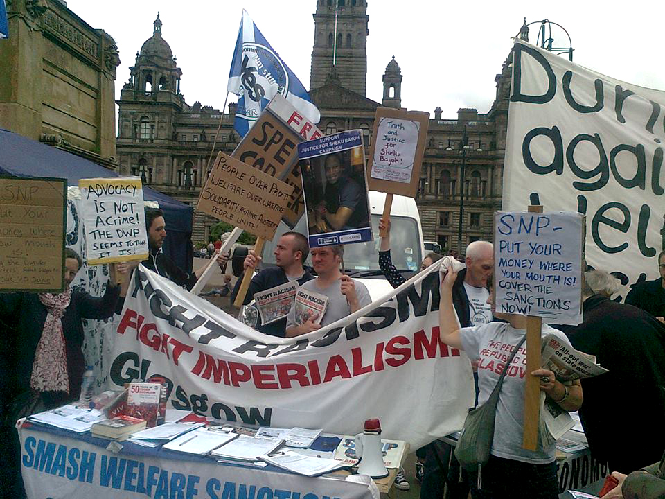 George square 20 June