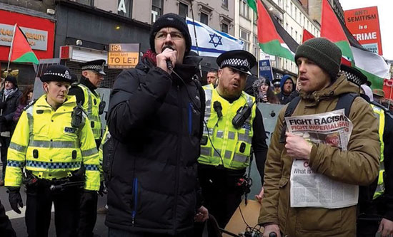 The RCG proudly stood with others on 17 March 2018 and successfully prevented the Zionist Confederation of Friends of Israel Scotland (CoFIS) from participating in the annual Stand Up to Racism march