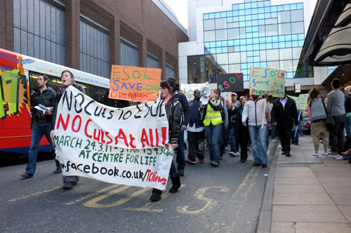 No cuts to ESOL! – 24 March 2011