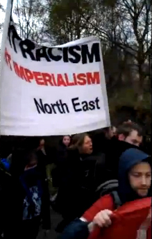 Newcastle May Day march: Labour Party supporters challenged and respond with violence