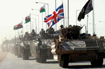 Murderous British imperialism - military operations in North Africa and the Middle East since 1945