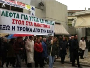 'It's either them or us!' – Greek workers fight back