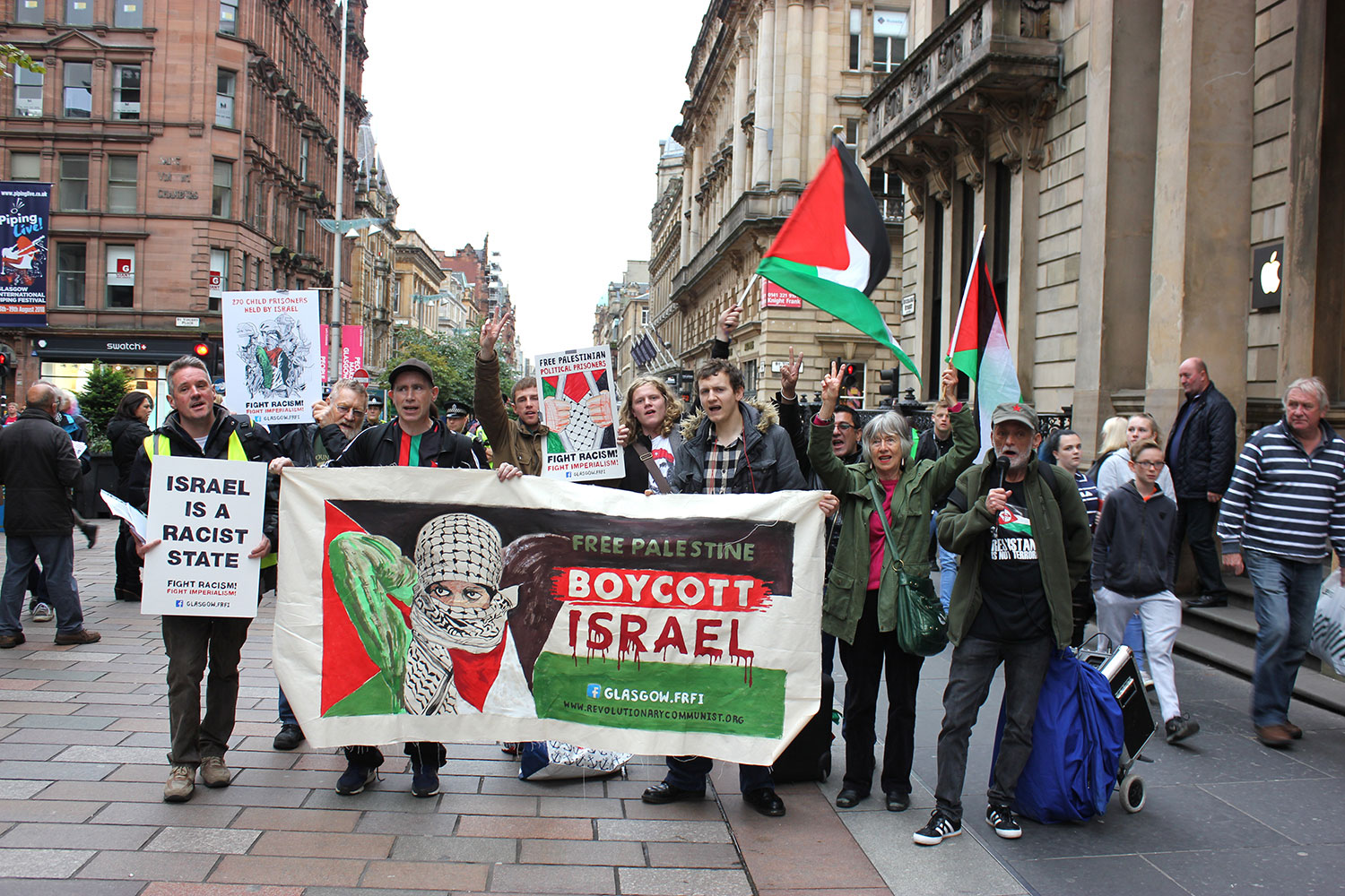 Defend Palestine Solidarity - Fight back