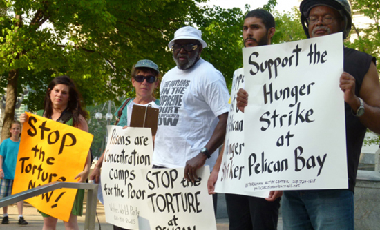 pelican bay hunger strike protest