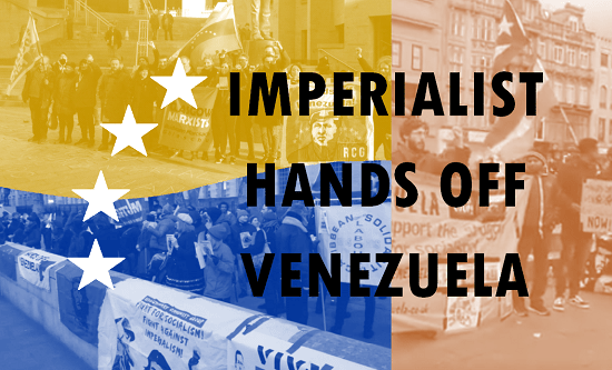 Imperialist hands off Venezuela