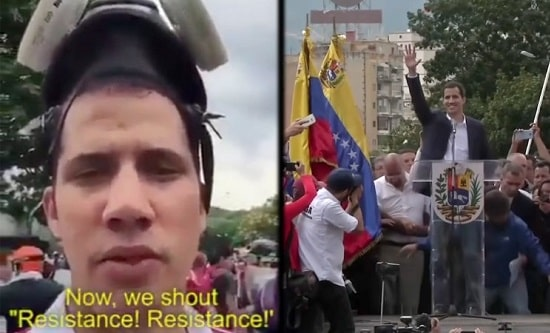 juan guaido us regime change training min