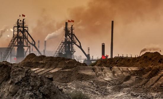 Bayan Obo rare earth processing plant, Inner Mongolia